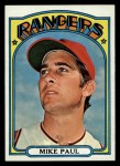 1972 Topps #595   Nolan Ryan Front Thumbnail