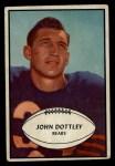 1953 Bowman #2  John Dottley  Front Thumbnail