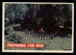 1956 Topps Davy Crockett #8 ORG  Preparing for War  Front Thumbnail