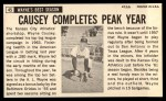 1964 Topps Giants #45  Wayne Causey  Back Thumbnail