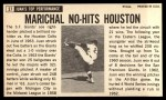 1964 Topps Giants #37   Juan Marichal  Back Thumbnail