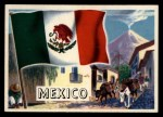 1956 Topps Flags of the World #67   Mexico Front Thumbnail