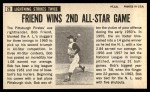 1964 Topps Giants #28  Bob Friend  Back Thumbnail