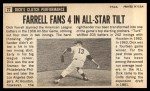 1964 Topps Giants #22   Dick Farrell  Back Thumbnail