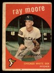 1959 Topps #293   Ray Moore Front Thumbnail