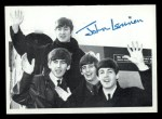 1964 Topps Beatles Black and White #139   John Lennon Front Thumbnail