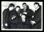 1964 Topps Beatles Black and White #143  George Harrison  Front Thumbnail