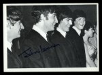 1964 Topps Beatles Black and White #148   John Lennon Front Thumbnail