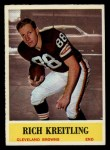 1964 Philadelphia #36  Rich Kreitling  Front Thumbnail