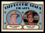 1972 Topps #392  Pirates Rookies    -  Fred Camria / Richie Zisk Front Thumbnail