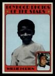 1972 Topps #494  Boyhood Photo  -  Willie Horton Front Thumbnail