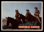 1956 Topps Davy Crockett #47 ORG  Trouble Ahead  Front Thumbnail