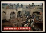 1956 Topps Davy Crockett #70 ORG Defenses Crumble   Front Thumbnail