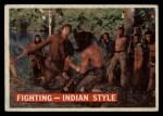 1956 Topps Davy Crockett #33 ORG Fighting  Front Thumbnail