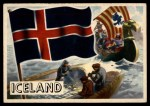 1956 Topps Flags of the World #17   Iceland Front Thumbnail