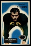 1955 Bowman #148   Frank Varrichione Front Thumbnail