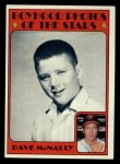 1972 Topps #344  Boyhood Photo  -  Dave McNally Front Thumbnail