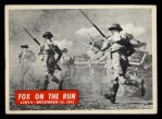 1965 Philadelphia War Bulletin #16   -    Fox on the Run Front Thumbnail