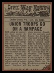1962 Topps Civil War News #78   Sudden Attack Back Thumbnail