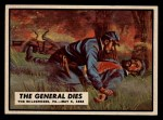 1962 Topps Civil War News #62  The General Dies  Front Thumbnail