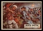 1962 Topps Civil War News #47  Death Battle  Front Thumbnail