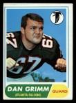 1968 Topps #46   Dan Grimm Front Thumbnail