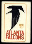 1966 Philadelphia #1   Falcons Logo Front Thumbnail