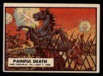 1962 Topps Civil War News #21  Painful Death  Front Thumbnail