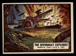 1962 Topps Civil War News #45   The Riverboat Explodes Front Thumbnail