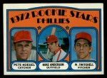 1972 Topps #14   Phillies Rookie Stars    -  Mike Anderson / Pete Koegel / Wayne Twitchell Front Thumbnail