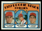 1972 Topps #14  Phillies Rookies    -  Mike Anderson / Pete Koegel / Wayne Twitchell Front Thumbnail