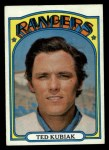 1972 Topps #23   Ted Kubiak Front Thumbnail