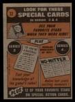 1972 Topps #32   -  Cleon Jones In Action Back Thumbnail