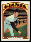 1972 Topps #35   Jerry Johnson Front Thumbnail