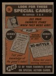 1972 Topps #36  In Action  -  Jerry Johnson Back Thumbnail