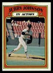1972 Topps #36  In Action  -  Jerry Johnson Front Thumbnail