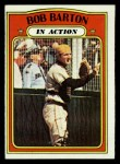 1972 Topps #40  In Action  -  Bob Barton Front Thumbnail