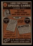 1972 Topps #42  In Action  -  Tommy Davis Back Thumbnail