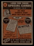 1972 Topps #46  In Action  -  Glenn Beckert Back Thumbnail