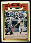 1972 Topps #54  In Action  -  Bud Harrelson Front Thumbnail