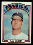1972 Topps #66   Ray Corbin Front Thumbnail