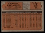 1972 Topps #97   Tom Kelley Back Thumbnail