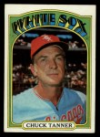1972 Topps #98   Chuck Tanner Front Thumbnail