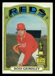 1972 Topps #99   Ross Grimsley Front Thumbnail