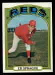 1972 Topps #121  Ed Sprague  Front Thumbnail