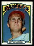 1972 Topps #191   Jeff Burroughs Front Thumbnail