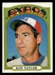 1972 Topps #234   Ron Taylor Front Thumbnail