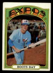 1972 Topps #254  Boots Day  Front Thumbnail
