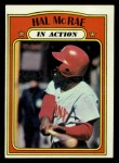 1972 Topps #292  In Action  -  Hal McRae Front Thumbnail