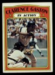 1972 Topps #432  In Action  -  Cito Gaston Front Thumbnail